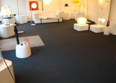 Teppich im Lichtgeschäft