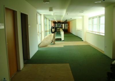 Teppich in Seniorenresidenz