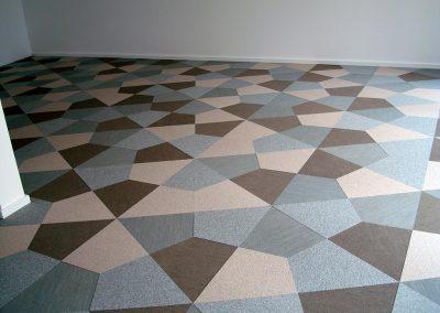 Teppichfliesen-Mosaik bei Eclipse GmbH