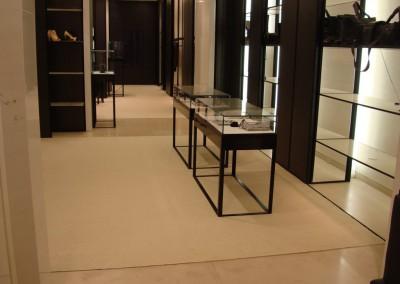 Teppich in Chanel-Shop 06: verlegte Fläche