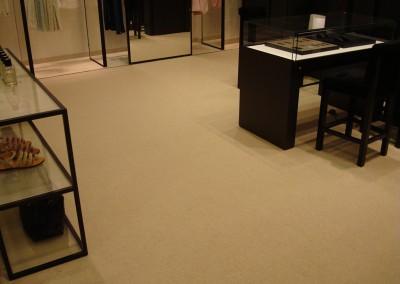 Teppich in Chanel-Shop 08: verlegte Fläche
