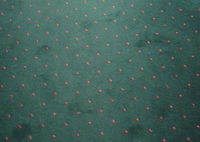 Teppichverlegung im Golf Club Freudenau 05: Musterung des Teppichbodens