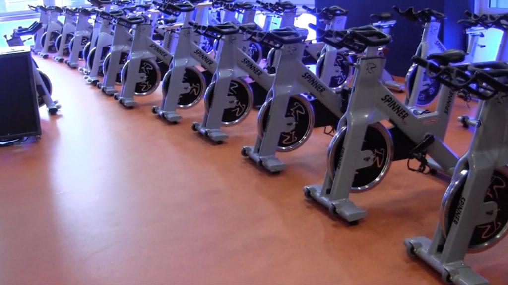 Linoleum als Fitnessboden