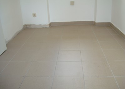 Mabos PVC-Bodenbelag 01: vor der Verlegung