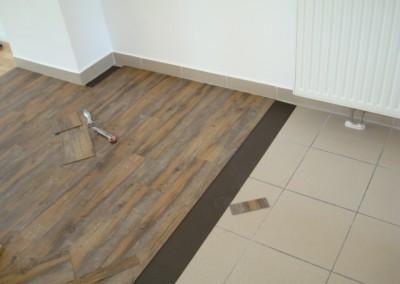 Mabos PVC-Bodenbelag 04: Verlegung auf Magnetmatte