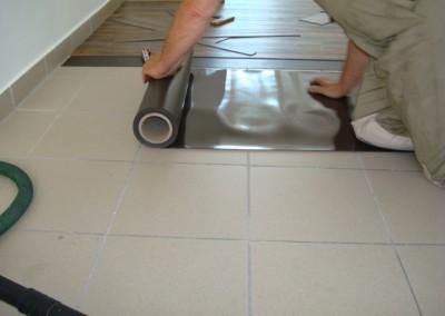 Mabos PVC-Bodenbelag 02: Anbringung einer Magnetmatte
