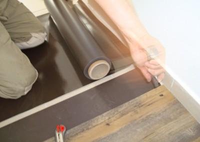 Mabos PVC-Bodenbelag 03: Magnetmatte als kleberfreie Befestigung