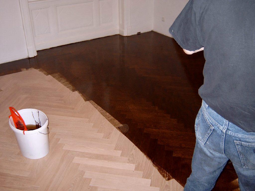 Bildergalerie Beispiel Fur Pigmentation Des Parkettbodens