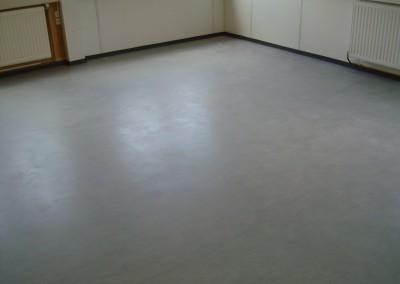 Grauer PVC-Bodenbelag 07 - verlegte Fläche