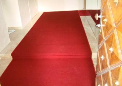 Rote Teppichstufen 03