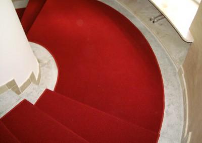 Rote Teppichstufen 05