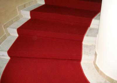 Rote Teppichstufen 06