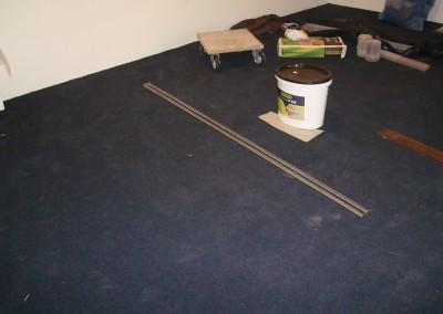 Teppich im Lichtgeschäft 01: Untergrundvorbereitung und Verklebung