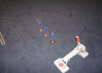 Teppich im Lichtgeschäft 03: Verbindung von Nähten