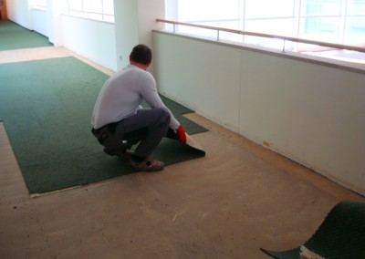 Teppich in Seniorenresidenz 04 - grober Zuschnitt