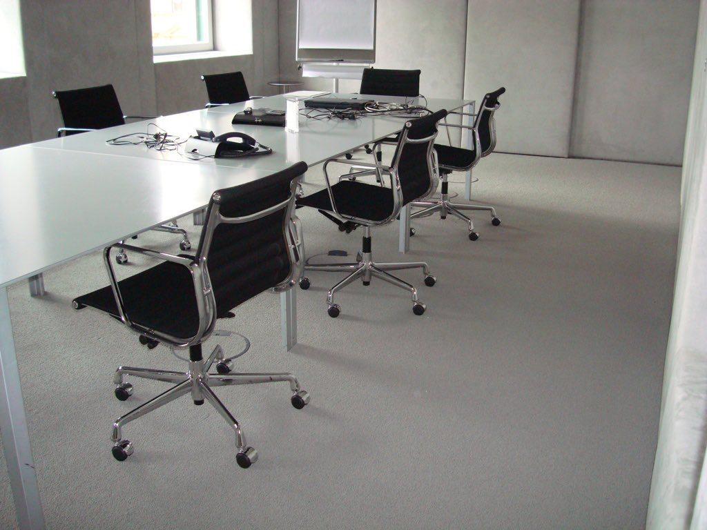 Teppichboden als Büroboden