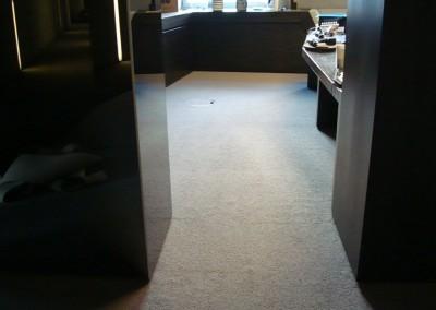 Teppichboden im Büro 04: Verlegung und Zuschnitt