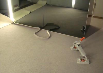 Teppichboden im Büro 05: Verlegung und Zuschnitt