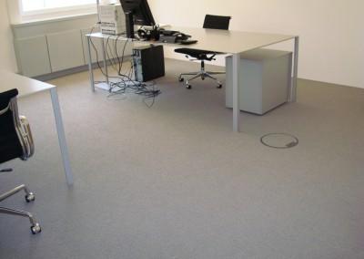 Teppichboden im Büro 10: verlegte Flächte - Office