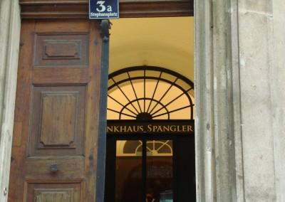 Teppichverlegung im Bankhaus Spängler 01 - Wien, Stephnasplatz