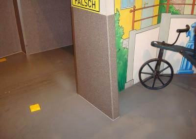 Vinylboden als praktischer Wandschutzt